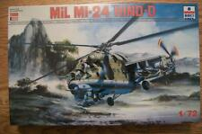 NEW 1:72 PLASTIC MODEL KIT of MiL MI-24 HIND-D HELICOPTER from ERTL/ESCI