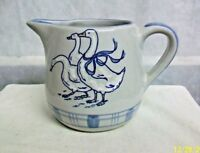 "*AC-CH KENTUCKY LOUISVILLE STONEWARE CHINA ""GAGGLE of GEESE"" WATER/JUICE PITCHER"