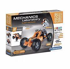 Mechanics Laboratory Buggy & Quad Clementoni Construction Kit Building Toy New