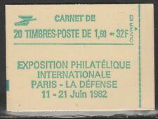 FRANCE carnet DELACROIX 2219c1 daté avec RE neuf**