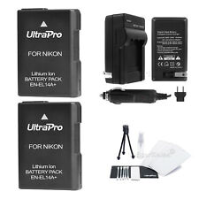 2X EN-EL14a Battery+ Charger For Nikon D3100 D3200 D5100 D5200 DF P7100 P7700