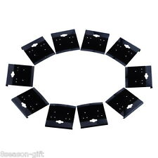 100Pcs Black Plain Hanging Earring Cards With Lip Jewelry Display Hang