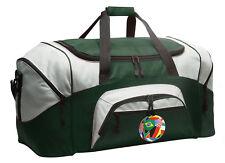 Flag Soccer Ball Duffle Travel Bag - Sport Duffel