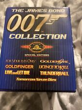 James Bond Collection 007 Gift Set - Vol. 1 (DVD, 1999, 7-Disc Set,...