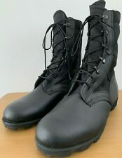 Genuine British Army USA Wellco Black Jungle Boots Tropical Hot Weather Safety