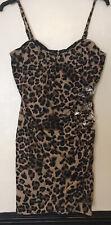 Womens Animal Print Lipsey Dress Size 16 NWOT