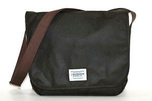 Barbour Shoulder Bag Unisex Eadan Messenger UBA0542 Pocket Laptop Cotton Waxed