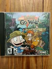 Rugrats Go Wild Nickelodeon PC CD-ROM THQ  PC CD-ROM Software