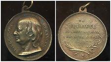 BERANGER  poete national 1857