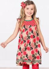 Matilda Jane Glad Tidings Dress Make Believe  Girls Size 4 NWT Christmas
