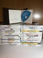 Nintendo Wii/WiiU  Games Lot of 27 Most CIB W Wii Sports No Duplicates