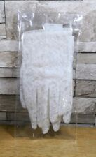 WHITE LACE BRIDAL GLOVES SIZE SMALL BRAND NEW IN PACKET
