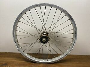 Old School BMX Ukai Speedline Wheel Rim 20X1.75 Suzue Hub Rear Araya 7c 7x GT