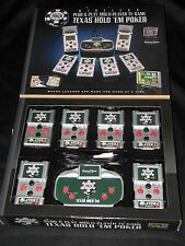 Excalibur Electronics Texas Hold 'Em World Series of Poker Multi-Player TV Game
