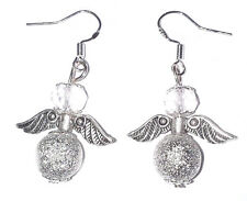 SILVER STARDUST Crystal Guardian Angel Orecchini NATALE Damigelle COMPLEANNO UK