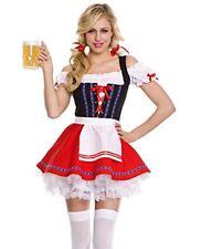 Ladies Octoberfest Oktoberfest German Beer Maid Wench Festival Costume 12-14
