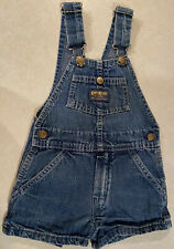 Vintage OshKosh B'Gosh  Bib Shorts  Boys Size 4  Vestbak