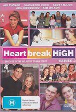 HEARTBREAK HIGH SERIES 3 - Emma Roche, Putu Winchester, Callan Mulvey on 4 DVD'S