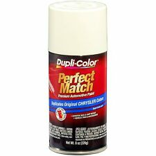 Duplicolor BCC0407 For Chrysler Codes PW1 Stone White 8 oz. Aerosol Spray Paint