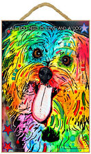 Shih Tzu Sign – All You Need is Love & a Dog 7 x 10.5