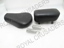 ROYAL ENFIELD CLASSIC C5 FRONT DRIVER & REAR PASSENGER COMPLETE SEAT #RE130