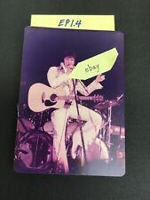 ELVIS PRESLEY Photograph On Stage Concert 1977 EP1.4