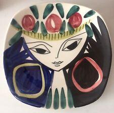 Inger Waage Wandteller Keramik Stavangerflint Norwegen