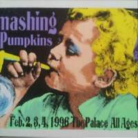 Frank kozik silkscreen poster smashing pumpkins from JAPAN free shipping