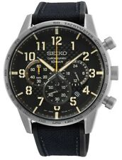Seiko Gents Military Style Chronograph Watch - SSB367P1 NEW