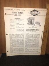 New ListingPhilco Radio Original Service Manual M-5944