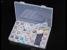 🇬🇧28  PCS 10Gram Empty Cosmetic Nail Pots