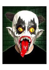 Latex Black Eyed Evil Clown Mask Horror Halloween Fancy Dress Accessory P8503