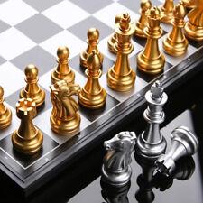Juego de ajedrez magnético viajes juego wegiel Europea Profesional juego de ajedrez de torneo