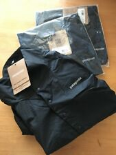 NEW Patagonia HOUDINI Ultralight Pullover BLACK 24156 Mens Medium SLIM FIT
