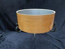 "Gretsch 14"" Snare Drum Shell Birdseye Maple Silver Sealer New NOS"