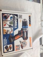 Worx Cordless 20V Drill Srew driver BARE UNIT ONLY WX178.9 WITH PULSE ASSIST