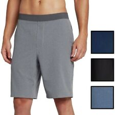 "Hurley Men's Alpha Trainer Solid Hybrid 20.5"" Board Walk Shorts"