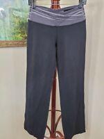 Lululemon Womens Black Wide Leg Yoga Pants 8 (EE1)