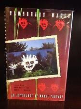 TEMPORARY WALLS: An Anthology of Moral Fantasy - Greg Ketter -1st -1993