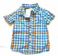 H&M Checked 100% Cotton Shirts (0-24 Months) for Boys