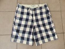 Abercrombie&Fitch   Cotton  Check Shorts      Size 34~