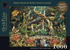 "Art & Fable Puzzle Co. -  ""Mantis Mundi""  -  1000 piece Jigsaw Puzzle NEW"