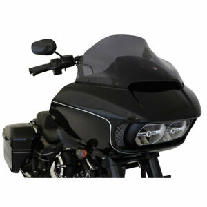 "Klock Werks 14"" Dark Smoke Sport Flare Windshield 2015-2020 Harley Road Glide"