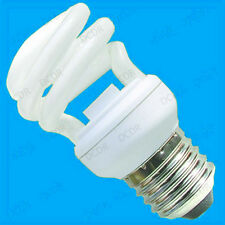 10x 14W Mini Spiral Low Energy CFL Light Bulbs ES, E27, Edison Screw Lamps Globe
