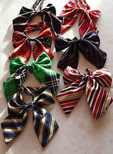 UK Adjustable Pet Cat Dog Teddy Doll Neck Tie Grooming Bowtie Mix Fashion Colour