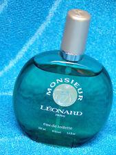 Factice MONSIEUR LEONARD PARIS EDT 100 ml Flacon Bouteille FACTICE DUMMY PLEIN !