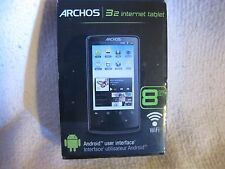 Archos 32 3.2-Inch Internet Tablet with Android, new and Sealed