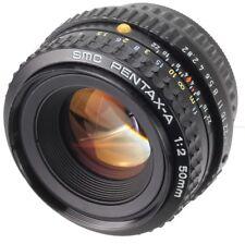 SMC PENTAX-A 50 mm 1:2 Mount Pentax PK (Réf#L-017)