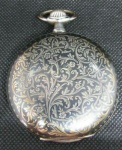 Taschenuhr NOMOS  800er Silber