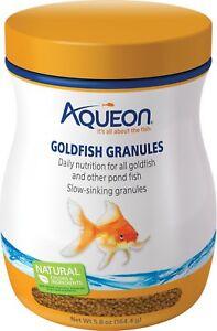 Aqueon Goldfish Granule Fish Food  3oz